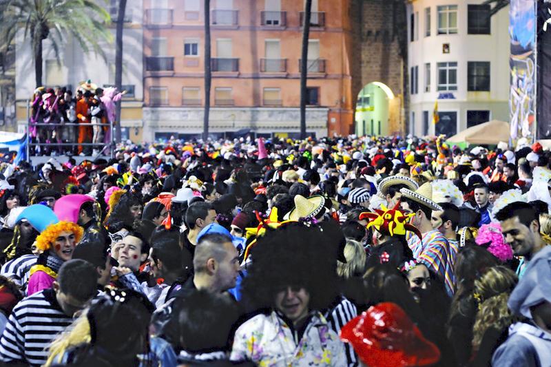 Cadice, la vida es un Carnaval