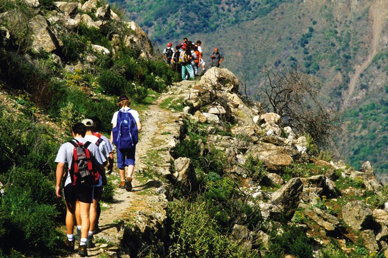 In Calabria con il trekking dell'Inglese
