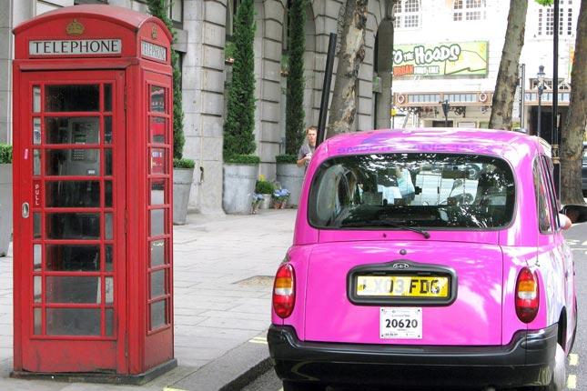 Una Londra tutta rosa