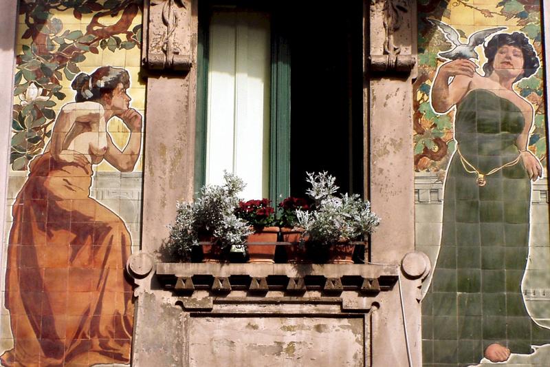 L'anima Liberty di Milano, esempi di stile