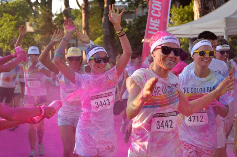 Color Run: Milano diventa multicolor
