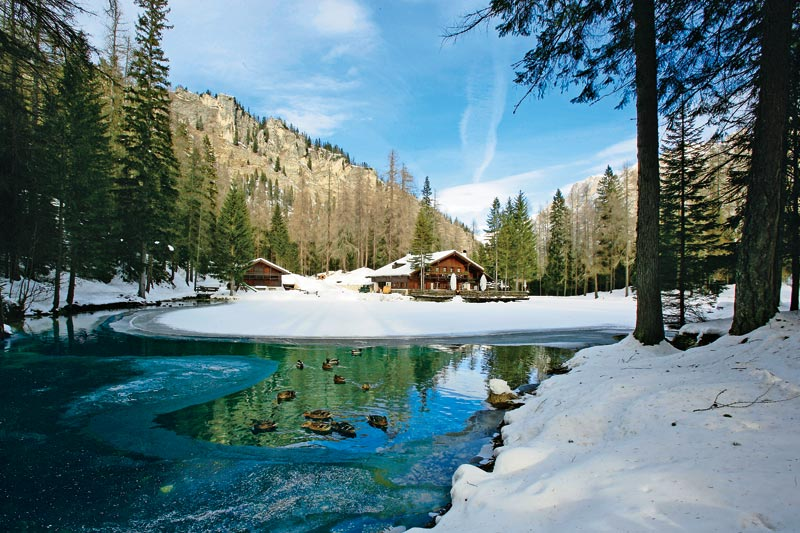 Cortina: filosofia slow snow