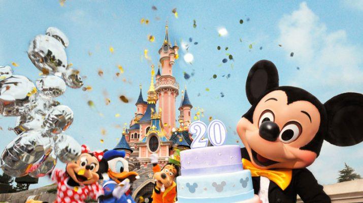 Foto Buon compleanno Disneyland Paris
