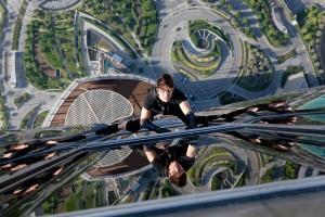 A Dubai con Tom Cruise sul grattacielo più alto del mondo