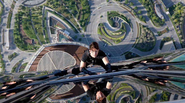 Foto A Dubai con Tom Cruise sul grattacielo più alto del mondo