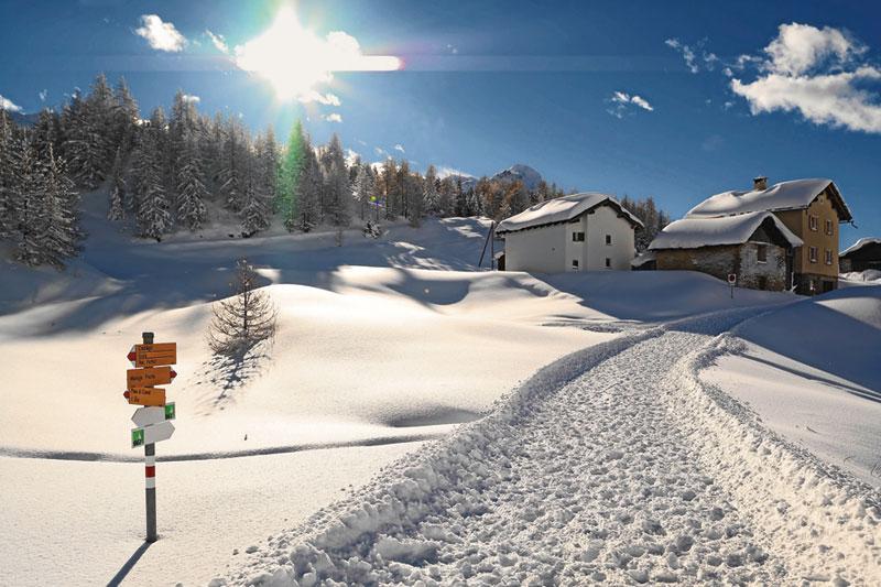 Engadina, l'inverno di una volta