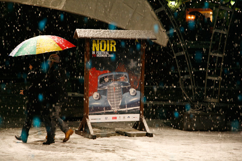 Dicembre a Courmayeur, tra neve bianca e brividi noir