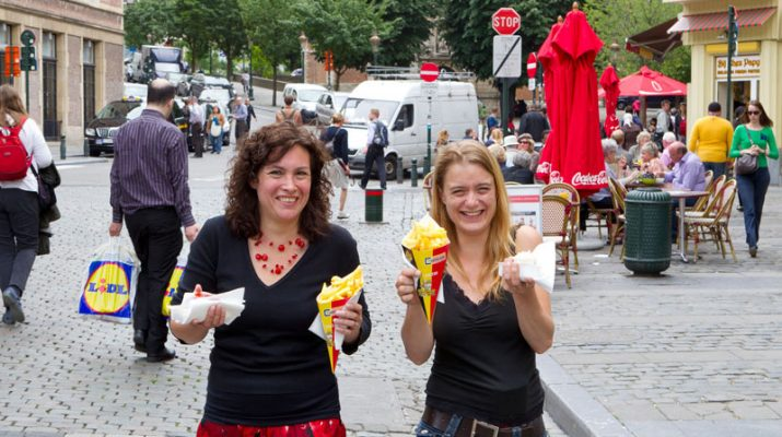 Foto Bruxelles: tutti pazzi per le frites