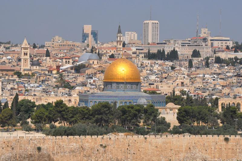 Il volto mistico di Gerusalemme