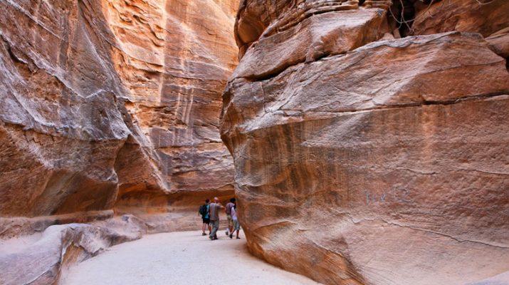 Foto Petra, la città rosa del Medioriente