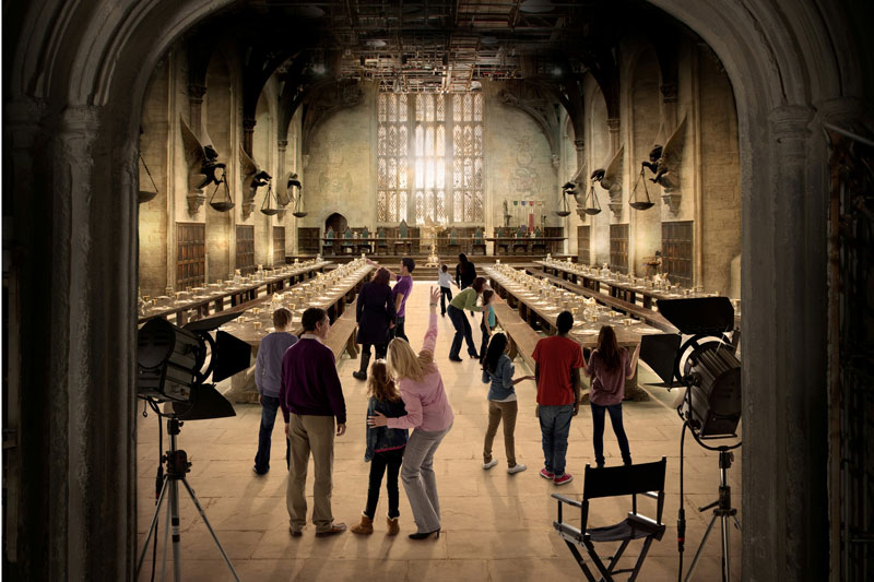 Londra, sulla scopa di Harry Potter