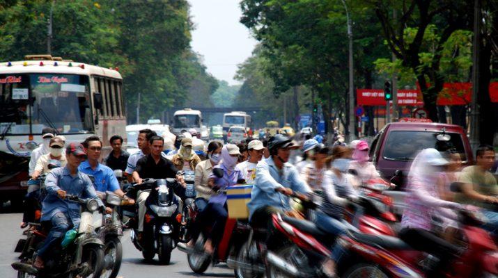 Foto Ho Chi Minh, tra palazzi coloniali e venditori d?incenso