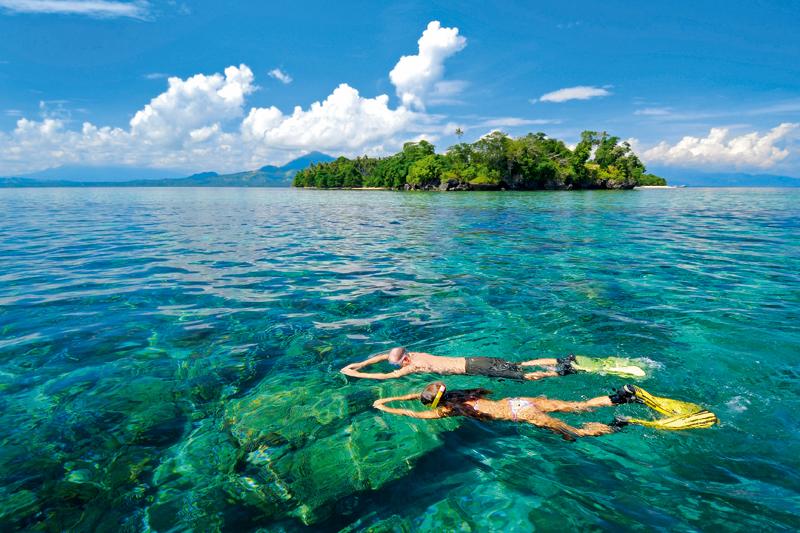 La calda e piacevole estate a Bali