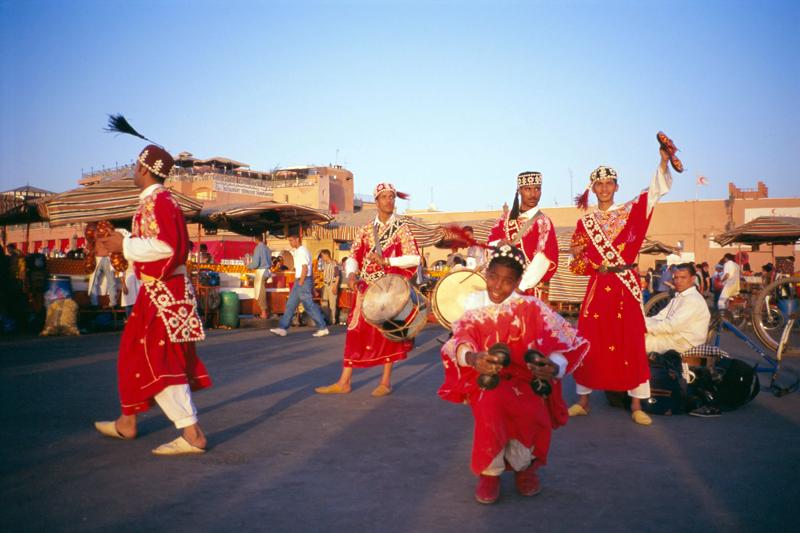 Marrakech, shopping e feste d'estate