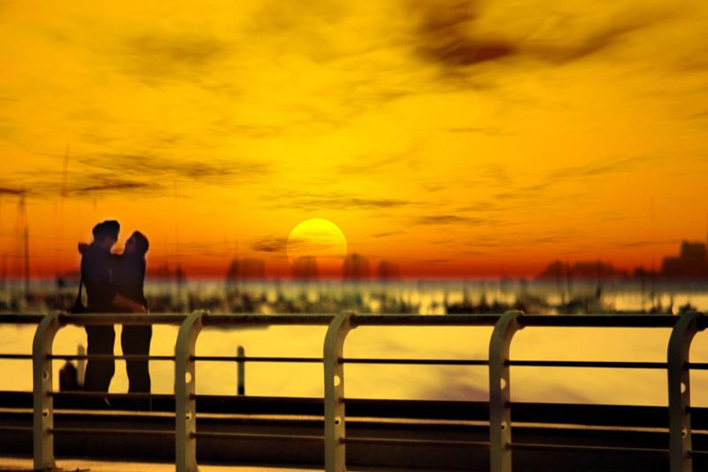 Melbourne: tramonti di coppia