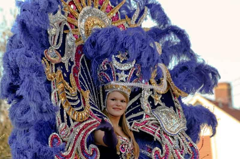 New Orleans, i colori del Mardi Gras