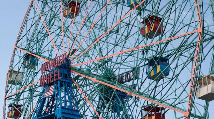 Foto New York da brivido a Coney Island