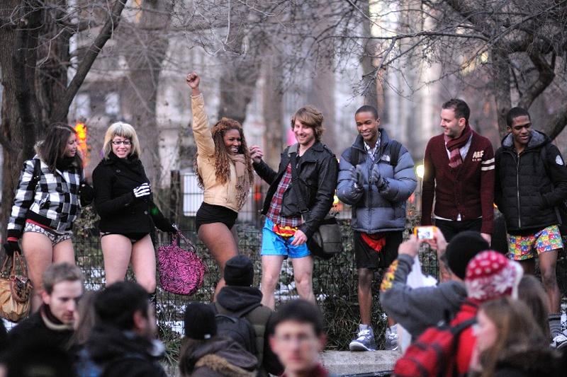 Tutti a New York… in mutande