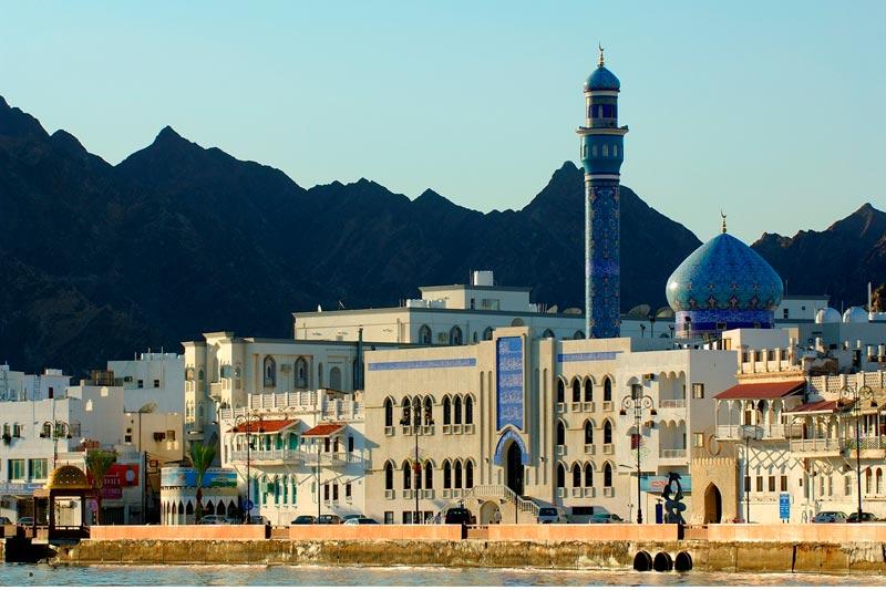 Muscat e il fascino del Medioriente