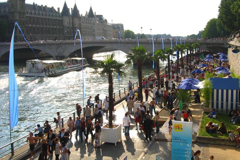 Parigi: la bella estate sulla Senna