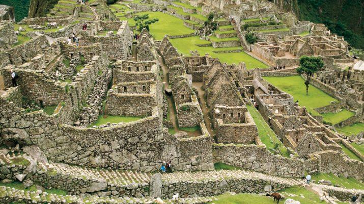 Foto I cent?anni del Machu Picchu