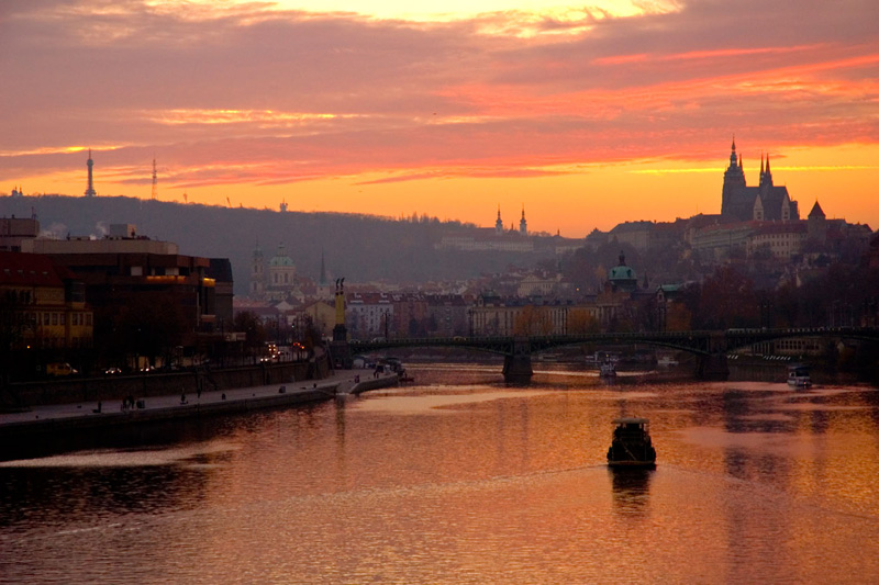 A Praga, tutta autunno e foliage