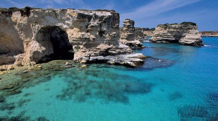 Foto Salento fuori stagione: mare blu e prezzi low cost