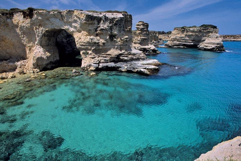 Salento fuori stagione: mare blu e prezzi low cost