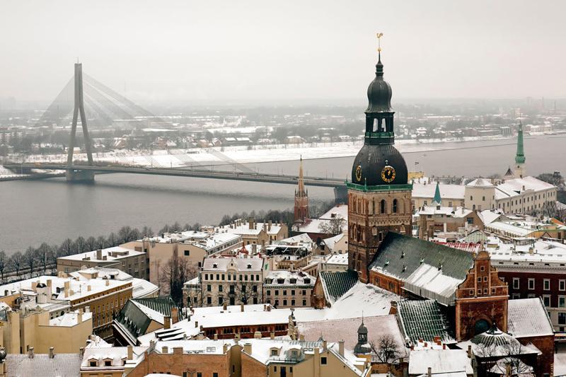 Inverno baltico: vacanze a Riga, Vilnius, Tallin