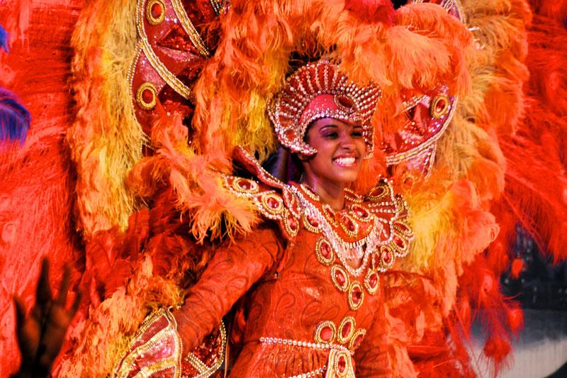 Rio de Janeiro, tra i ballerini del Carnevale