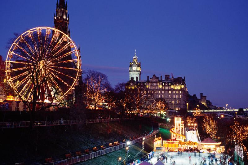 Edimburgo: tutte le emozioni dell'inverno scozzese