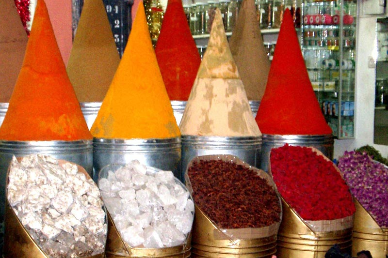 Shopping a Marrakech