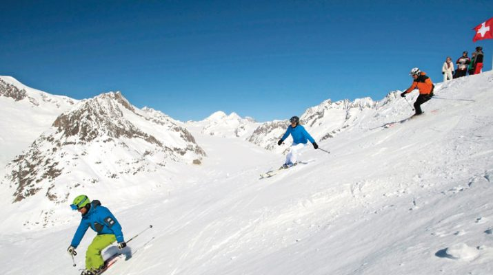 Foto Svizzera: tutti in pista nel Vallese