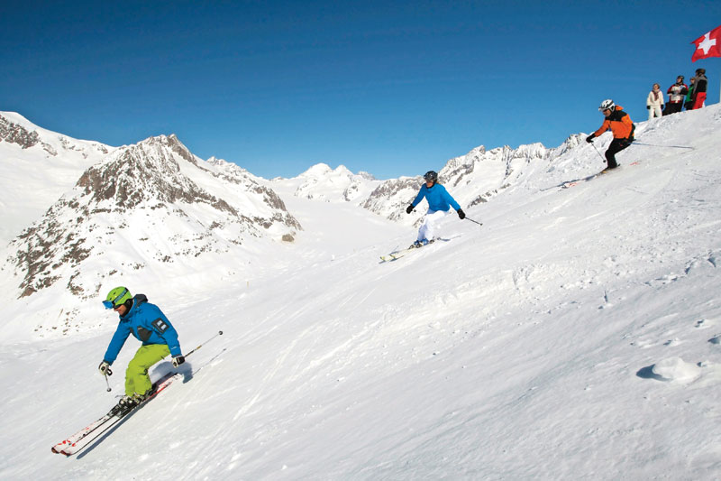 Svizzera: tutti in pista nel Vallese