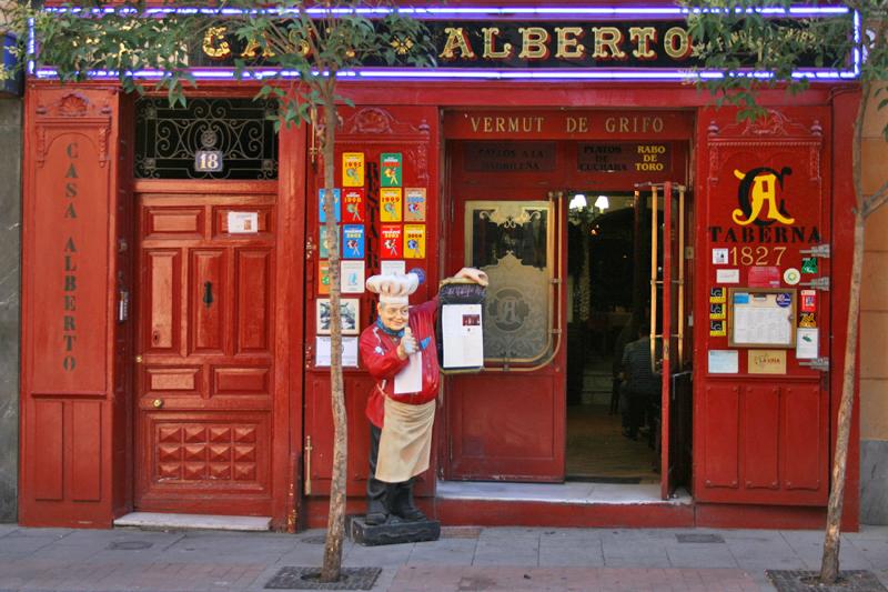 Madrid: turisti per tapas