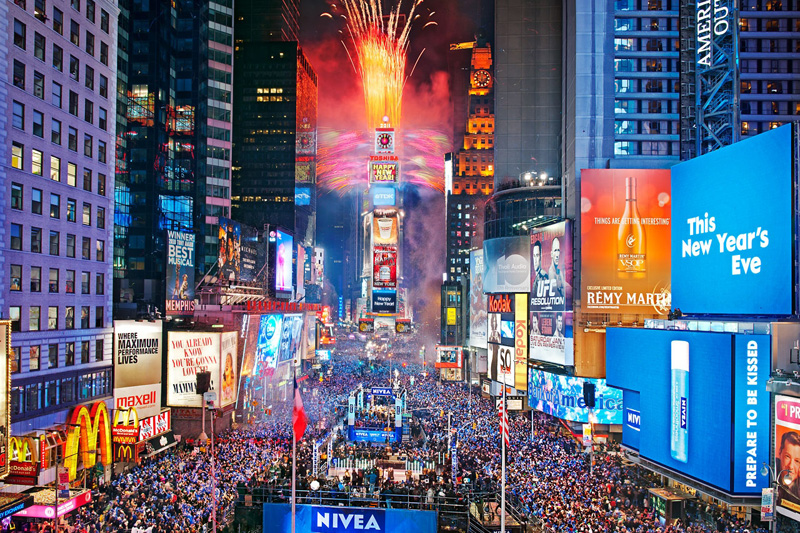 3, 2, 1… Capodanno a New York
