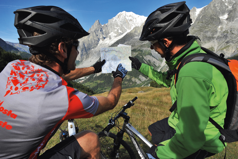 Valle d'Aosta in bici