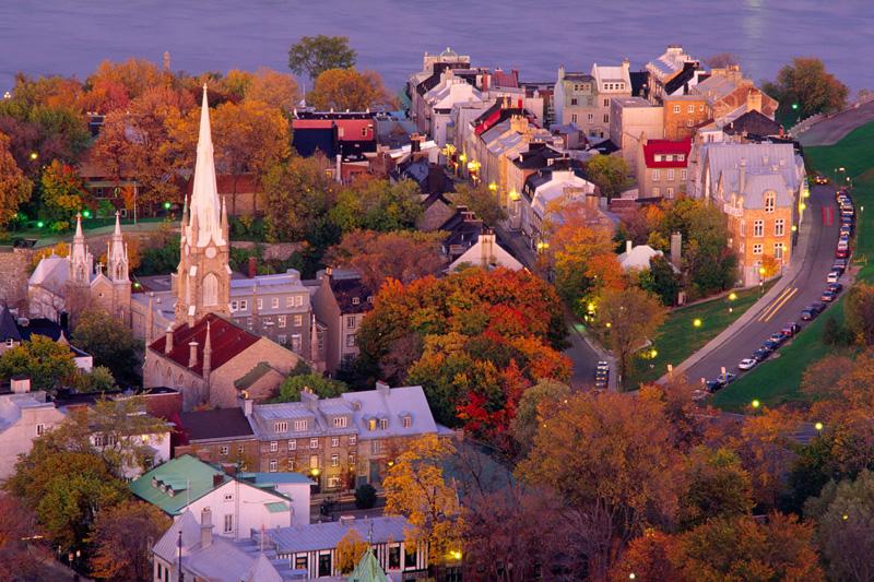 Il dolce autunno di Québec City