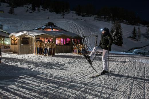Alto Adige:  pleniluni e piste segrete