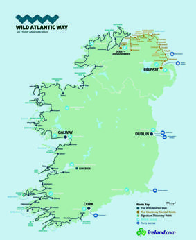 La Route 66 d'Irlanda