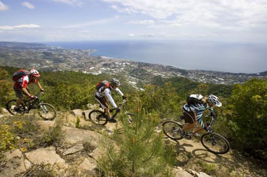 La Liguria dei sentieri. Vista mare