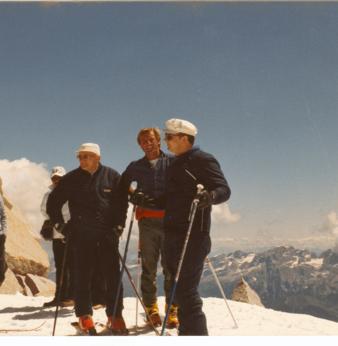 Con papa Wojtyla, sulle cime dell'Adamello