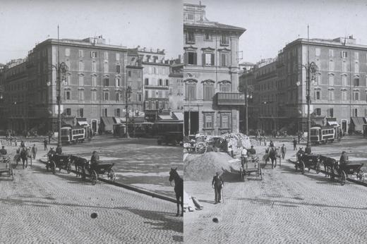 Foto Vintage in 3D: in mostra una Roma a sorpresa