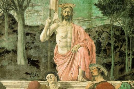 Foto I  paesaggi di  Piero della Francesca  si vedono dal balcone
