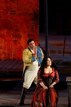 Arena di Verona: la Carmen, voce e sensualità in scena