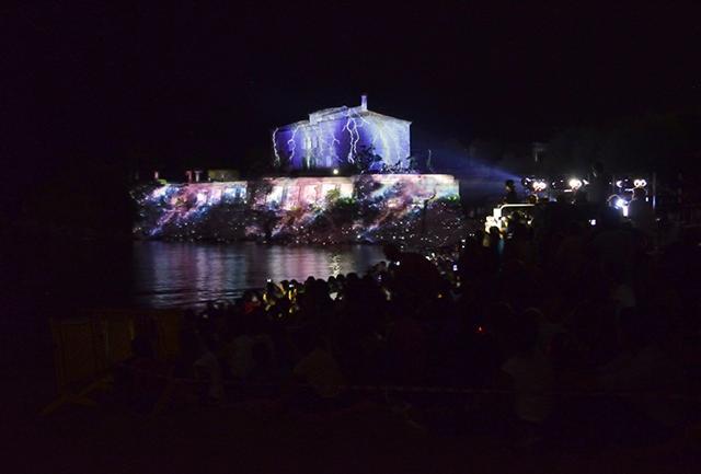 Fuochi d'artificio in Calabria con Ndf14