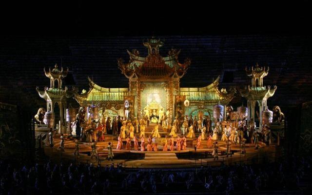 """Foto """"Nessun dorma"""":  Turandot  all'Arena di Verona"""