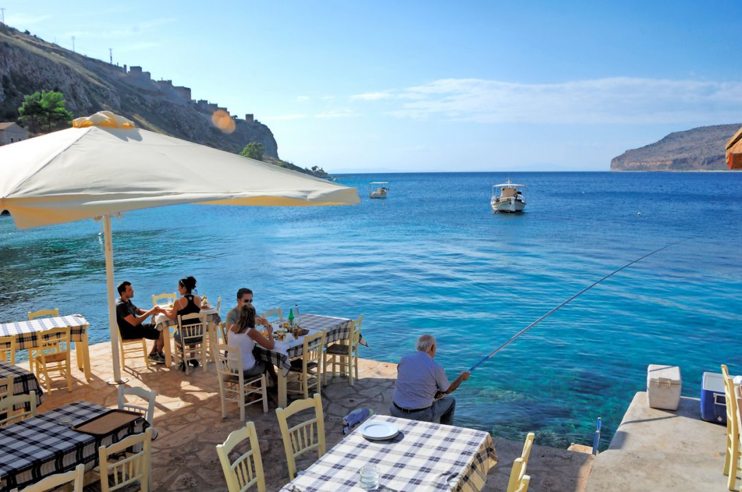 Grecia, vacanze a pelo d'acqua