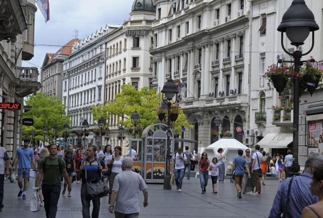 Belgrado, la nuova Berlino