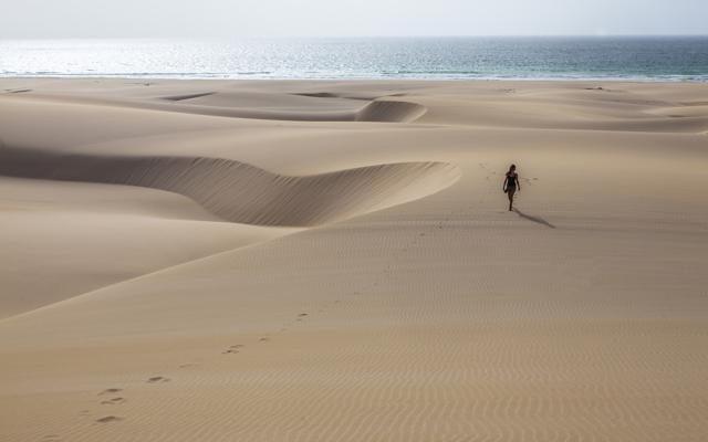 Foto Capoverde: vacanze a ritmo lento, tra deserto e bagni da film